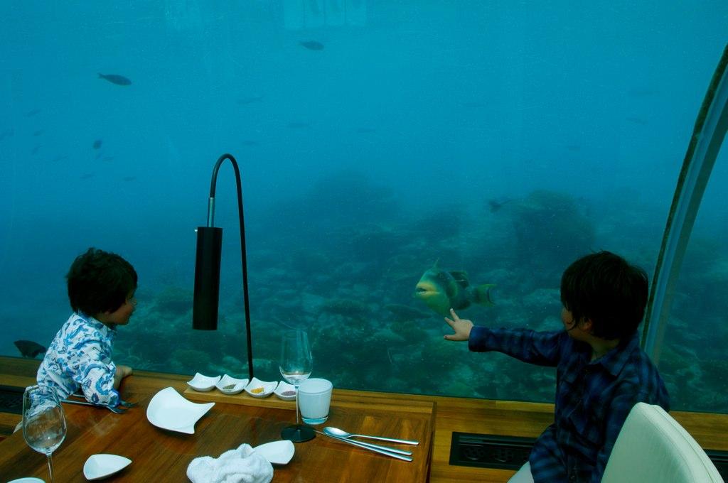 Underwater Dining